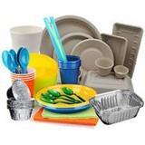 одноразовая посуда и столовые приборы