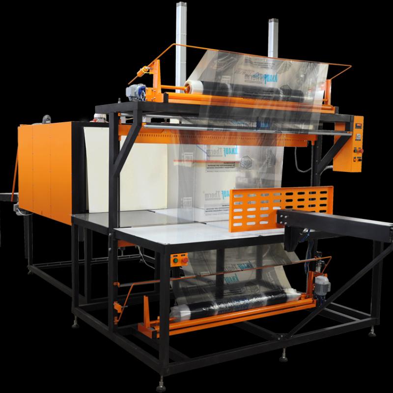 Термоупаковочная машина для упаковки утеплителя ТМ-1П М2