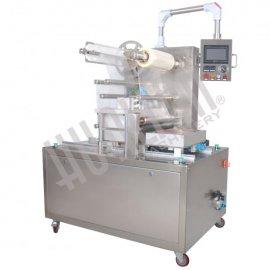 Автоматический запайщик лотков с функцией вакуумизации и газации HVT-450F