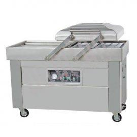 Напольная двухкамерная вакуум-упаковочная машина DZ-500/2SB SS (нерж.)