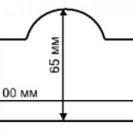 Этикетка 100*66L=115 mm n=14000