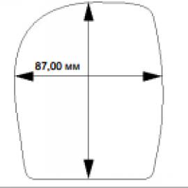 Этикетка 103*87L=125 mm n=10500