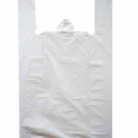 Пакет Майка 30см+16см*60см Белый