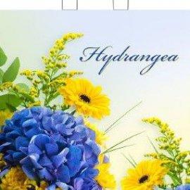 Пакеты с петлевой ручкой 38*42+6 цветы