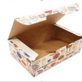 Упаковка для куриных крыльев и наггетсов с печатью « Enjoy» s