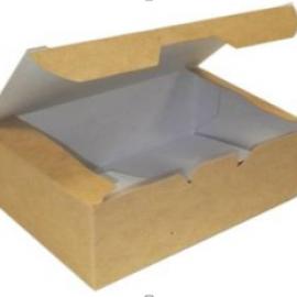 Упаковка для куриных крыльев и наггетсов S «Pure Kraft»