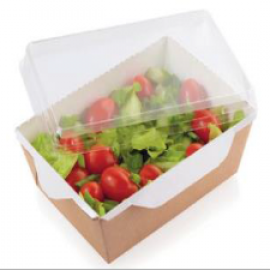 Контейнер для салата с прозрачной крышкой 350