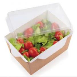 Контейнер для салата с прозрачной крышкой 400