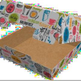 Упаковка для бургеров L «Enjoy»