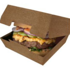 Упаковка для бургеров L «Pure Kraft»