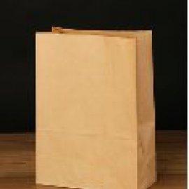 Пакет 180*120*290с прямоугольным дном Крафт